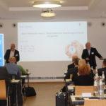 Jörg Beutner und Jürgen Lienau erläutern die Notwendigkeit einer Straf-RS